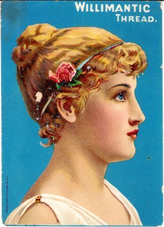 Willimantic Linen Company Trade Cards Collection