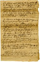 Account allowed by the Committee of Safety for the town of Simsbury, 1776
