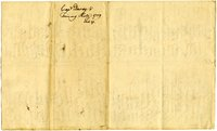 French and Indian War Collection: Rolls of enlisted and Impressed Men, February 1759 (Box 1 Folder 10)
