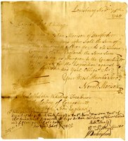 French and Indian War Collection: Transfer of Wages, 1745-1747 (Box 1 Folder 16)