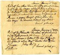 French and Indian War Collection: Transfer of Wages, 1752-1753 (Box 1 Folder 21)