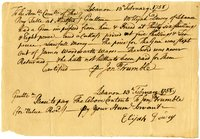 French and Indian War Collection: Accounts and receipts, 1756-1757 (Box 2, Folder 4)