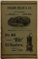 """Catalogue of """"Miller"""" oil heaters"""