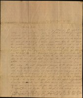 Letter from Charlotte and Mary Cowles to Samuel Cowles, 1833 August 14.