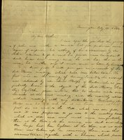 Letter from Charlotte to Samuel Cowles, 1834 July 21.