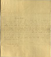 Letter from Charlotte to Samuel Cowles, 1837 June 27.