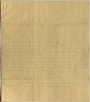 Letter from Charlotte to Samuel Cowles, 1837 June 30.