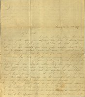 Letter from Charlotte to Samuel Cowles, 1837 October 24.