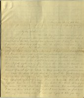 Letter from Charlotte to Samuel Cowles, 1838 March 26.