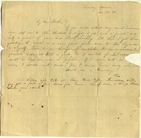 Letter from Charlotte to Samuel Cowles, 1838 November 3.