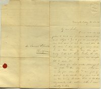 Letter from Charlotte to Samuel Cowles, 1838 October 26