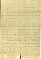 Letter from Charlotte to Samuel Cowles, 1839 November 12.