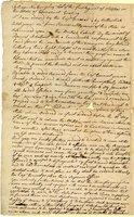 Erastus Wolcott letter to Roger Newberry