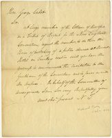 Nathaniel Terry letter to George Cabot