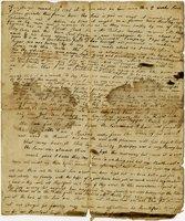 Elizabeth Steele letter to her children