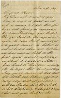 Letter from Joseph Cross, 1864 December 10