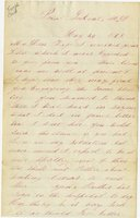 Letter of Joseph Cross 1865 May 24