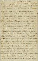 Letter of Joseph Cross 1864 December 31