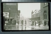 Flood of 1936:  corner of Union Place and Allyn Street, Hartford