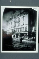 Allyn Hall fire, 180 Asylum Street, Hartford, 26 February 1914