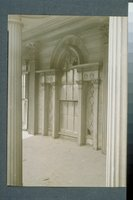 Abraham Bradley house: detail of Palladian window, New Haven