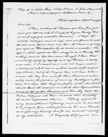 Silas Deane Papers:  Deane to John Hancock, found in Vol. 2 CHS Collections, 1778 September 14