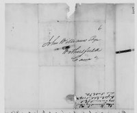 Williams Family Papers: Correspondence among  John Howard, Mary Williams, and John McClellan, 1819-1820