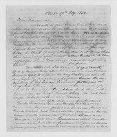 Williams Family Papers: Correspondence among Hannah Williams, John McClellan, Thomas Williams, and Mary Williams. Jan.-May 1834