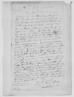 Oliver Wolcott, Sr. Papers: Letters to Laura Wolcott from Oliver Wolcott, 1767 - 1775