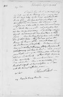Oliver Wolcott, Sr. Papers: Letters to Laura Wolcott from Oliver Wolcott. Jan. - June, 1776