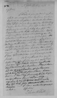Oliver Wolcott, Sr. Papers: Letters to Laura Wolcott from Oliver Wolcott. July - December, 1776