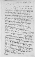 Oliver Wolcott, Sr. Papers: Letters from Oliver Wolcott to his wife, Laura, while at Yorktown, 1778