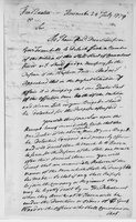 Oliver Wolcott, Sr. Papers: Letters Primarily to Oliver Wolcott, July 24 - 25, 1779