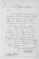 Oliver Wolcott, Sr. Papers: Letters primarily to Wolcott from John Trumbull, Andrew Ward, Samuel Parsons, and John Glover, 1779