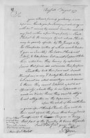 Oliver Wolcott, Sr. Papers: Letters primarily to Wolcott about prisoner exchanges, and resolutions concerning plundering, 1779