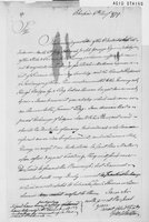 Oliver Wolcott, Sr. Papers: Letters primarily to Wolcott; copy of letter to Andrew Ward; list of payments for espionage, 1779
