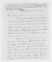 Williams Family Papers: Correspondence among John McClellan, Thomas Williams, and Sophia Williams, 1837