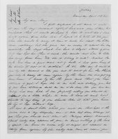 Williams Family Papers:  Correspondence among Sophia, Elizabeth, and Mary Williams, April-May 1846