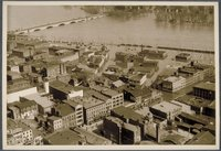 Flood of 1936 : North east from Travelers Tower