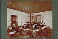 Arithmetic class, Hillyer Institute, Y.M.C.A., Hartford, ca. 1900