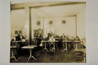 Architectural drawing class, Hillyer Institute, Y.M.C.A., Hartford, 1909-1910