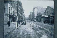 Asylum Street looking east from High Street, Hartford, ca. 1920