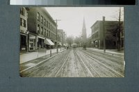 Arch Street looking north, New Britain