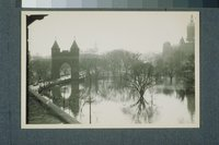 Flood of 1936: Bushnell Park and State Capitol, Hartford