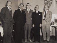 Albert Coote, William H. Mortensen, and others, Hartford