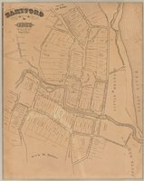 Hartford in 1640 prepared from the original records by vote of the town and drawn by William S. Porter, surveyor & antiquarian
