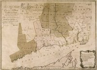 To the right honourable, the Earl of Shelburne, His Majesty's principal Secretary of State for the Southern Department. This plan of the colony of Connecticut in North-America. Is humbly dedicated by his lordship's most obedient humble servt. Moses Park.
