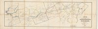 Map exhibiting the route of the Norwich & Worcester rail-road surveyed by James P. Kirkwood, James Laurie (Civil Engineers), ...