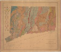 Preliminary geological map of Connecticut by H.E. Gregory & H.H. Robinson