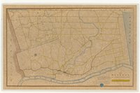 Map of Windsor, shewing the parishes, the roads, and houses